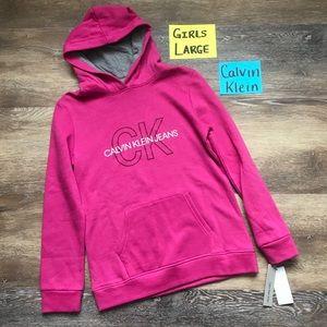 🛍NWT Calvin Klein Girls Size Large Sweatshirt